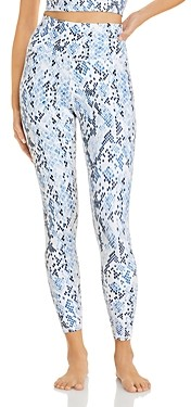 Aqua Athletic Snake Print Super High Rise Leggings - 100% Exclusive