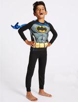 Marks and Spencer BatmanTM Long Sleeve Pyjamas (2-10 Years)