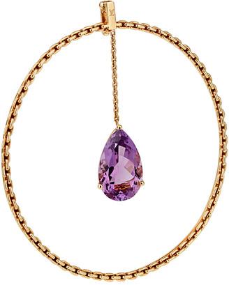 Louis Vuitton Heritage  18K Amethyst Chain Bracelet