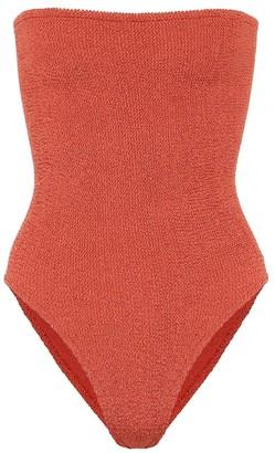 Hunza G Audrey strapless swimsuit