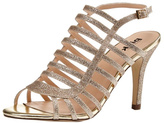 pink paradox London Skylar Gold Glitter Stiletto