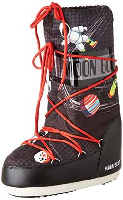 Moon Boot Moon-boot Jr By Space Man Snow Boots, Unisex Kids', Multicolour (Multicolor 001), (35)