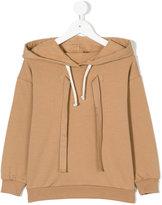 No21 Kids drawstring hoodie