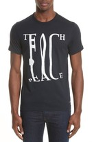 Paul Smith Men's Teach Peace T-Shirt