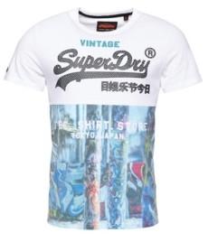 Superdry Shirt Shop Panel All Over Print T-Shirt