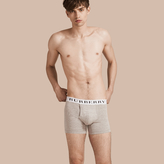 Burberry Stretch Cotton Boxer Shorts