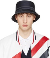 Thom Browne Navy Bucket Hat