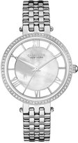 Bulova Caravelle New York by Women's Stainless Steel Bracelet Watch 34mm 43L183