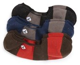Sperry 'Fleck' No-Show Socks (Assorted 3-Pack)