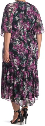 Taylor Floral Ruffle High/Low Dress