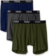 Puma Men's 3-Pack Volume Cotton Wicking Boxer Brief