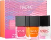 Nails Inc Stay Bright Neon Nail Polish Set