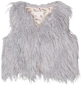 Pumpkin Patch Girl's Furry Vest Gilet
