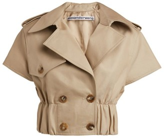 Alexander Wang Crop Trench Jacket