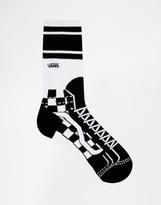 Vans Sk8 Crew Socks - Black