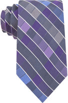 Van Heusen Vegas Plaid Silk Tie - Extra Long