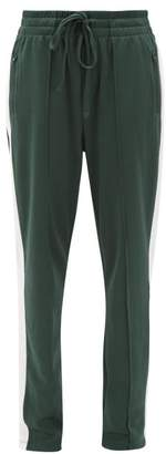The Upside Electric Ny Drawstring Cotton-blend Track Pants - Womens - Green