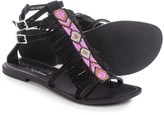 Coconuts by Matisse Matisse Lewis Beaded Gladiator Sandals - Leather (For Women)