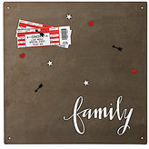 Primitives by Kathy Hand Lettered Collection Metal Family Magnet Board/Sign