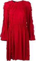 Giambattista Valli ruffle flared dress
