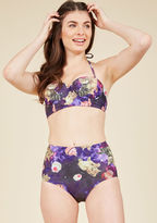 High Dive by ModCloth Know an Eccentric or Two Swimsuit Bottom in XS