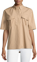 Equipment Major Short-Sleeve Blouse, Kelp