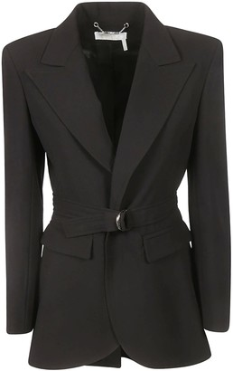 Chloé Single Breasted D Ring Blazer