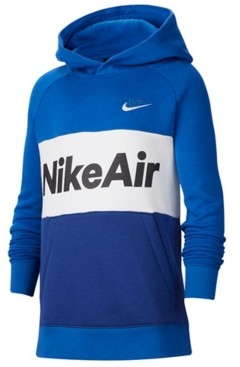 Nike Big Boys Air Colorblocked Pullover Hoodie