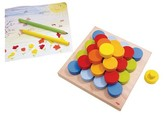 Haba Color Buttons Educational Stacking Game
