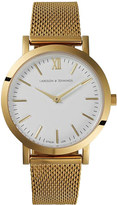 Larsson & Jennings Liten Bernadotte gold-plated watch