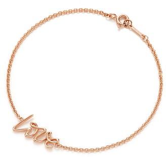 Tiffany & Co. Paloma's Graffiti love bracelet in 18k rose gold, small