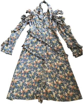 R 13 Multicolour Silk Dress for Women