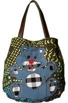 Vivienne Westwood Africa Manhole Shopper Tote Handbags