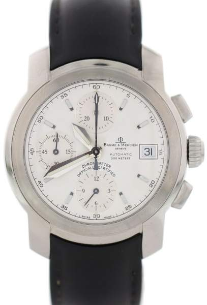 Baume & Mercier Capeland MV045216 Stainless Steel & Rubber 38mm Mens Watch