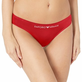 Emporio Armani Women's Bonding Microfiber Thong
