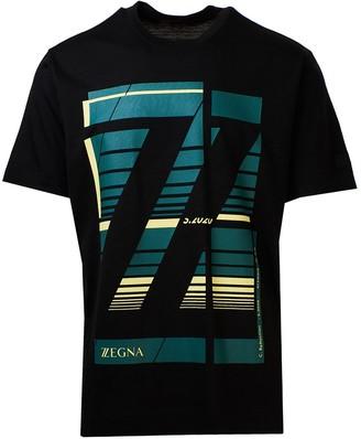 Ermenegildo Zegna Black T-Shirt