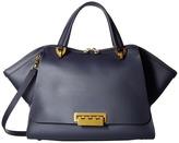Zac Posen Eartha Iconic Jumbo Double Handle Top-handle Handbags