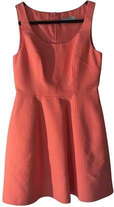 Karen Millen \N Orange Cotton Dress for Women