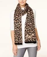 Kate Spade Brushed Leopard Print Scarf