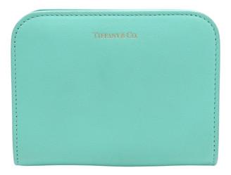 Tiffany & Co. Blue Leather Wallets