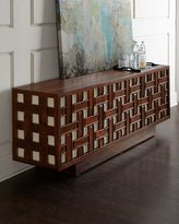 Global Views Kenny Basketweave Sideboard