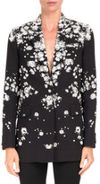 Givenchy Baby's Breath Blazer with Pearly Embellishments