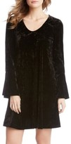 Karen Kane Women's Bell Sleeve Velvet Dress