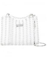 Paco Rabanne metal ring detail shoulder bag