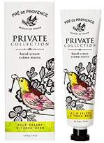 Pre de Provence Private Collection Hand Cream - Wild Celery and Tonka Bean