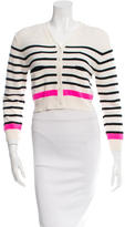 Lisa Perry Wool Striped Cardigan