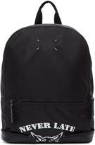 Maison Margiela Black Nylon never Late Backpack