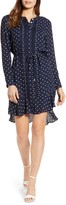 Tommy Hilfiger Polka Dot Long Sleeve Dress