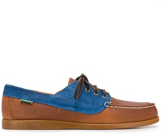 Sebago Lace-Up Deck Style Loafers