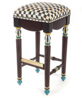 Mackenzie Childs MacKenzie-Childs Courtly Check Underpinnings Barstool